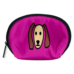 Face Dog Accessory Pouches (medium)  by Jojostore