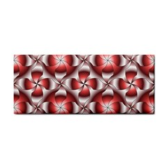 Floral Optical Illusion Cosmetic Storage Cases by Jojostore