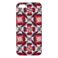 Floral Optical Illusion Iphone 5s/ Se Premium Hardshell Case by Jojostore