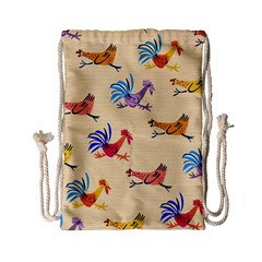 Chicken Drawstring Bag (small) by Jojostore