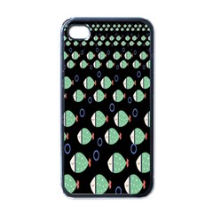 Fish Apple Iphone 4 Case (black) by Jojostore