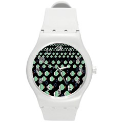 Fish Round Plastic Sport Watch (m)