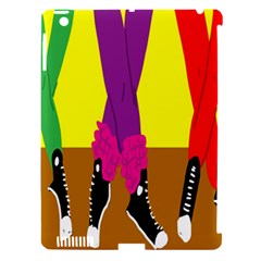 Foot Dance Apple Ipad 3/4 Hardshell Case (compatible With Smart Cover)