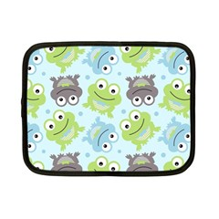 Frog Green Netbook Case (small)  by Jojostore