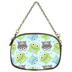Frog Green Chain Purses (one Side)  by Jojostore