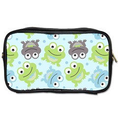Frog Green Toiletries Bags 2-side