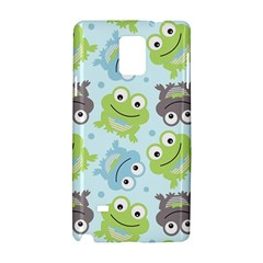Frog Green Samsung Galaxy Note 4 Hardshell Case