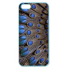 Feathers Peacock Light Apple Seamless Iphone 5 Case (color)