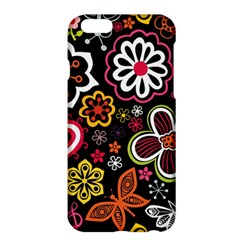 Flower Butterfly Apple Iphone 6 Plus/6s Plus Hardshell Case by Jojostore