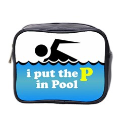 Funny Swiming Water Mini Toiletries Bag 2 Side