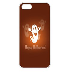 Funny Halloween Apple Iphone 5 Seamless Case (white) by Jojostore