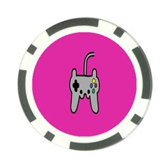 Game Pink Poker Chip Card Guards (10 Pack)