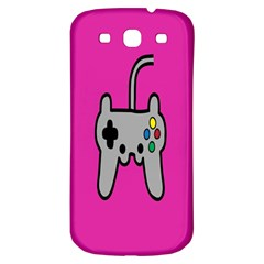 Game Pink Samsung Galaxy S3 S Iii Classic Hardshell Back Case