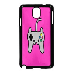 Game Pink Samsung Galaxy Note 3 Neo Hardshell Case (black) by Jojostore