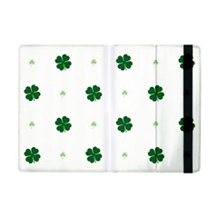 Green Leaf Apple Ipad Mini Flip Case by Jojostore