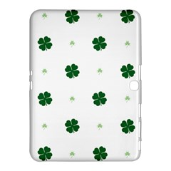 Green Leaf Samsung Galaxy Tab 4 (10 1 ) Hardshell Case