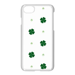 Green Leaf Apple Iphone 7 Seamless Case (white)
