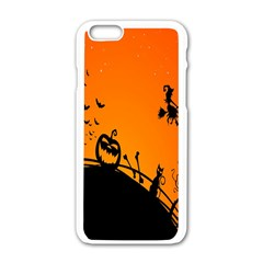 Halloween Day Apple Iphone 6/6s White Enamel Case by Jojostore
