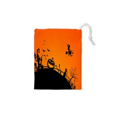 Halloween Day Drawstring Pouches (xs)  by Jojostore