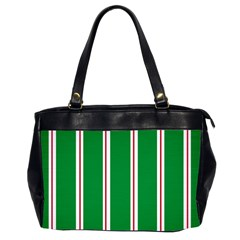 Green Line Office Handbags (2 Sides)  by Jojostore