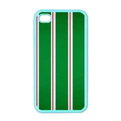 Green Line Apple Iphone 4 Case (color) by Jojostore
