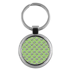 Green Ball Key Chains (round)