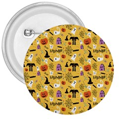 Halloween Pattern 3  Buttons by Jojostore