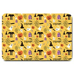 Halloween Pattern Large Doormat  by Jojostore