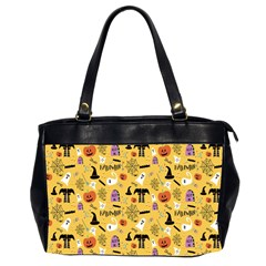 Halloween Pattern Office Handbags (2 Sides)  by Jojostore