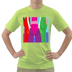 Initial Thumbnails Green T-shirt by Jojostore