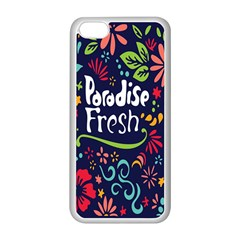 Hawaiian Paradise Fresh Apple Iphone 5c Seamless Case (white) by Jojostore
