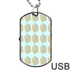 Kukang Animals Dog Tag Usb Flash (one Side)