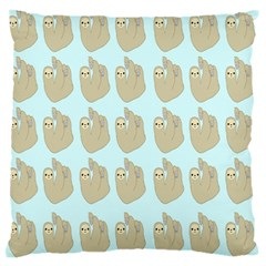 Kukang Animals Standard Flano Cushion Case (one Side) by Jojostore