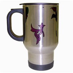 Leaf Travel Mug (silver Gray)