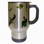 Leaf Travel Mug (Silver Gray) Right