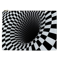Optical Illusions Cosmetic Bag (xxl)  by Jojostore