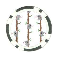 Koala Pattern Poker Chip Card Guards