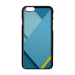 New Bok Blue Apple Iphone 6/6s Black Enamel Case