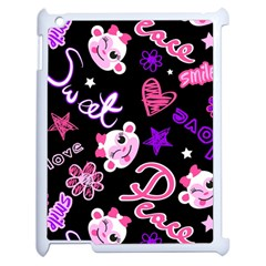 Monkey Face Cute Apple Ipad 2 Case (white)