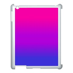 Pink Purple Blue Apple Ipad 3/4 Case (white) by Jojostore