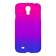Pink Purple Blue Samsung Galaxy S4 I9500/i9505 Hardshell Case by Jojostore