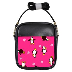 Penguin Girls Sling Bags by Jojostore