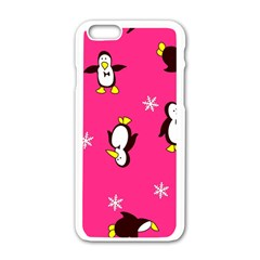 Penguin Apple Iphone 6/6s White Enamel Case by Jojostore