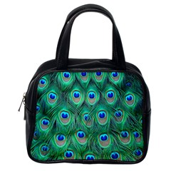 Peacock Feather Classic Handbags (one Side) by Jojostore