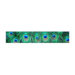 Peacock Feather Flano Scarf (mini)