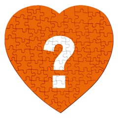 Question Mark Jigsaw Puzzle (heart)