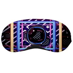 Abstract Sphere Room 3d Design Sleeping Masks