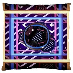 Abstract Sphere Room 3d Design Large Cushion Case (one Side)