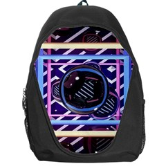 Abstract Sphere Room 3d Design Backpack Bag by Amaryn4rt