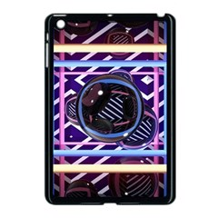 Abstract Sphere Room 3d Design Apple Ipad Mini Case (black) by Amaryn4rt